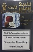 Табак Alajamy Gold Ice Hawaiian Apple (Лед Кокос Яблоко) 50 грамм