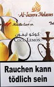 Табак Al-Jazeera Molasses Coco Lemon (Кокос Лимон) 50 грамм